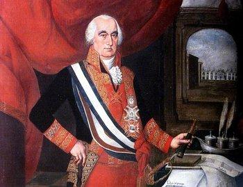 """José Fernando de Abascal, virrey del Perú, batalló contra los """"revolucionarios americanos""""."""