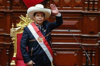 Pedro Castillo, nuevo presidente de Perú