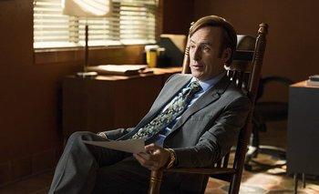Bob Odenkirk como Saul Goodman en Better Call Saul