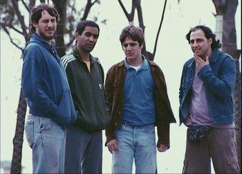 Chiqui, Pollo, Ricardo y Walter