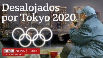 Desalojados por los Juegos Olímpicos de Tokio