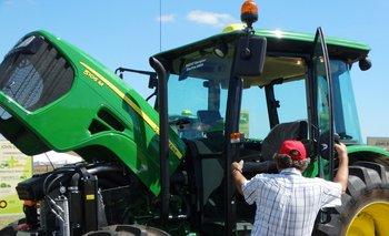 Hubo un fuerte avance en la inversión en tractores.