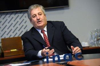 Conrado Ferber, presidente del INAC.