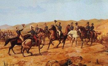 Antonio José de Sucre comandó al Ejército Libertador de Perú en la Batalla de Ayacucho.