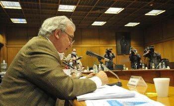 Comisionado presentó informe en el Parlamento