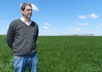 Nazar Rodrìguez, coordinador de los grupos CREA agrícola-ganaderos.