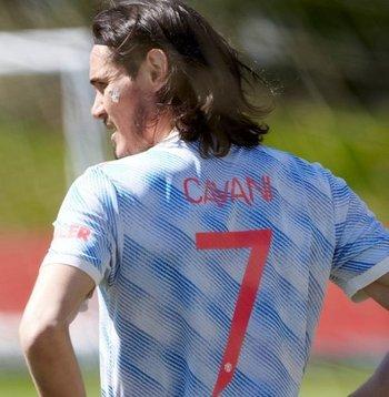 Cavani no está a la orden para el partido entre Manchester United y Newcastle United