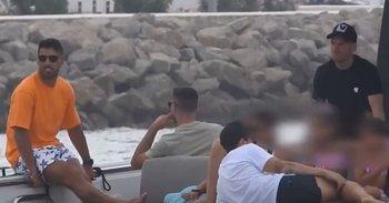 Luis Suárez y Lionel Messi ya están disfrutando, una vez más, de la isla de Ibiza en España