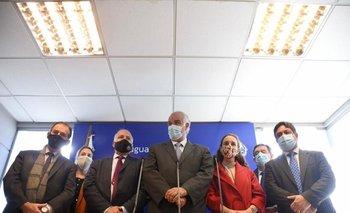 Los legisladores de la coalición se reunieron esta mañana con el presidente en la residencia de Suárez y Reyes