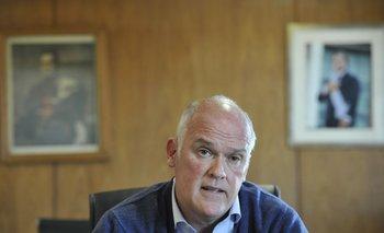 El subsecretario de Transporte, Juan José Olaizola, defendió el acuerdo con Katoen Natie