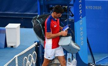 Djokovic se marchó de Tokyo 2020 sin medallas