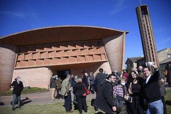 La Iglesia Cristo Obrero de Atlántida.