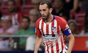 Diego Godín- AFP