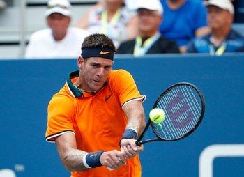 Del Potro avanzó a tercera ronda del US Open