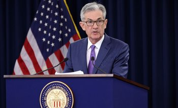 El presidente de la Fed,Jerome Powell.