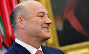 Gary Cohn fue director del Consejo Económico Nacional en el gobierno de Trump entre enero de 2017 y abril de 2018.