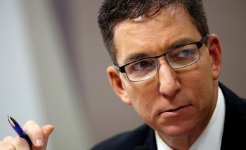 Las revelaciones sobre el caso Lava Jato han enfrentado a Glenn Greenwald con Bolsonaro.