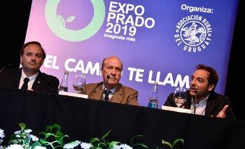 Rafael Ferber, Gabriel Capurro y Christian Di Candia