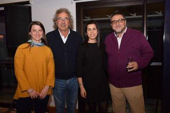 Cecilia Detomasi, Gonzalo Moreira, María Noel Rampoldi y Miguel García