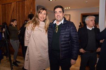 María José Caponi y Marcelo Debernardi