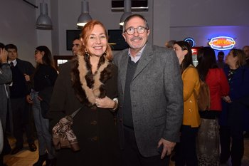 Sabina Ricigani y Eduardo Fernández