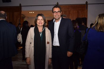 Teresa Cometto y Nicolás Oberti