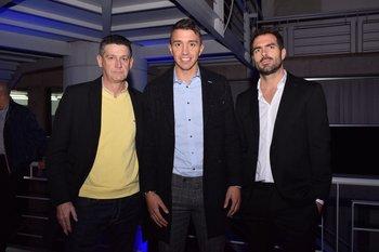 Eduardo Amigo, Fernando Muslera y Anibal Zeballos