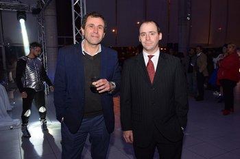 Enrique Maciel y Juan Galan