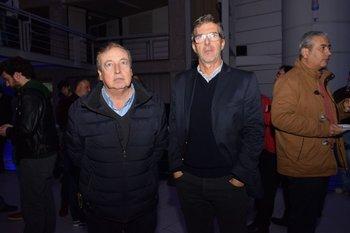 Mario Idoyaga y Gustavo Israel