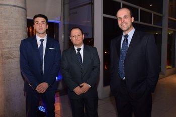 Nicolás Marasco, Victor Occhiuzzi e Ignacio Beltran