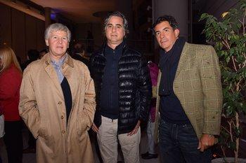 Diego Mussio, Diego Primavesi y Juan Patricio Méndez