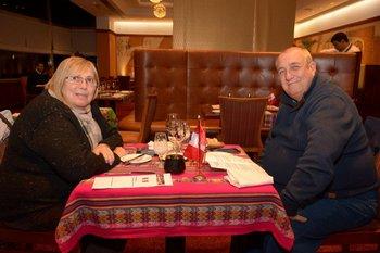 Susana Gabarrdin y Luis Juliano