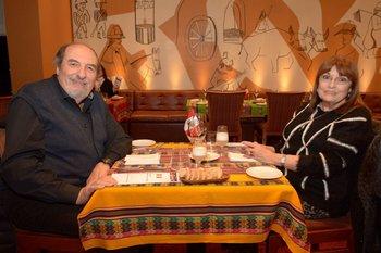 Daniel Quintana y Silvia Escudero
