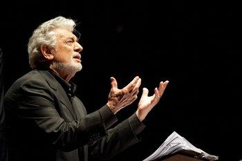 Plácido Domingo tuvo su reencuentro con el público español
