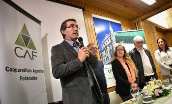 Pablo Perdomo, presidente de las Cooperativas Agrarias Federadas.
