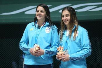 Camila Naviliat y Jimena Miranda
