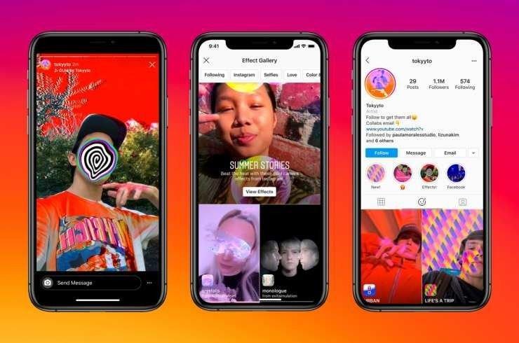 Lanza Instagram herramientas de realidad aumentada