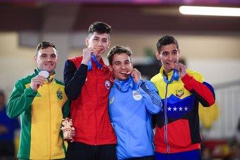 Douglas Brose, Joaquín Gonzáles, Maximiliano Larrosa, Jovanny Martínez
