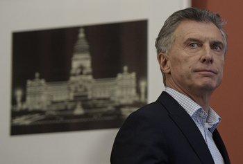 Mauricio Macri, expresidente argentino