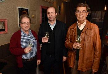 Julio Rivas, Leonardo Delbono y Wilmar Santeugini