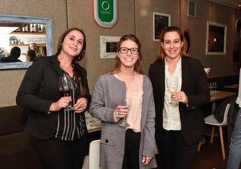 Carolina Berdia, Belén Crosa y Adriana Alves