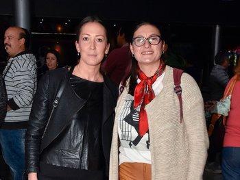Marina Núñez y Andrea Fabri