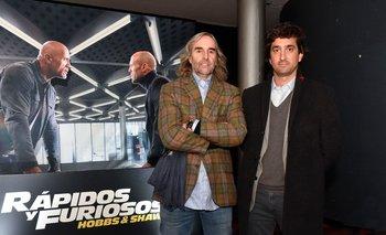 Carlos Scheck y Martín Rupenian