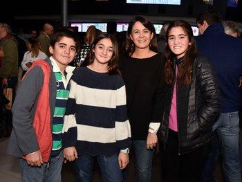 Juan Ignacio y Josefina Blanco, Silvia Gularte y Guillermina Blanco