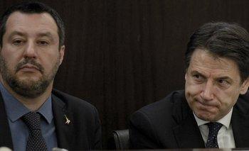 El barco Open Arms es la última fuente de tensión entre Matteo Salvini y Giuseppe Conte.