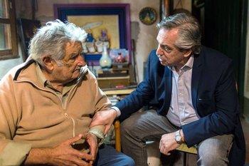 Mujica le aconsejó a Fernández buscar un punto de conciliación con la industria ganadera.