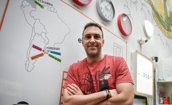 Fundador de El Viajero, Federico Lavagna