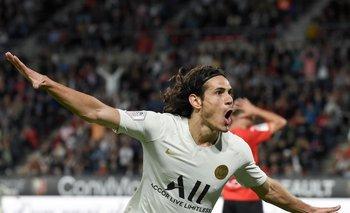 Un informe de Olocip determinó que Cavani era el mejor delantero para Real Madrid