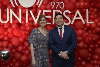 Martha Kamaid y Aldo Silva