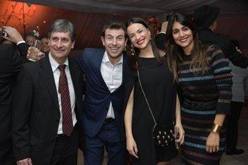 Fede Buysan, Gabriela Imperio y Cata Ferrand